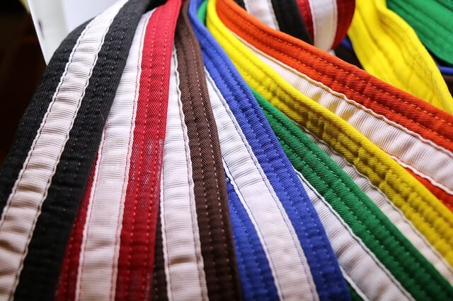 Kung Fu belts