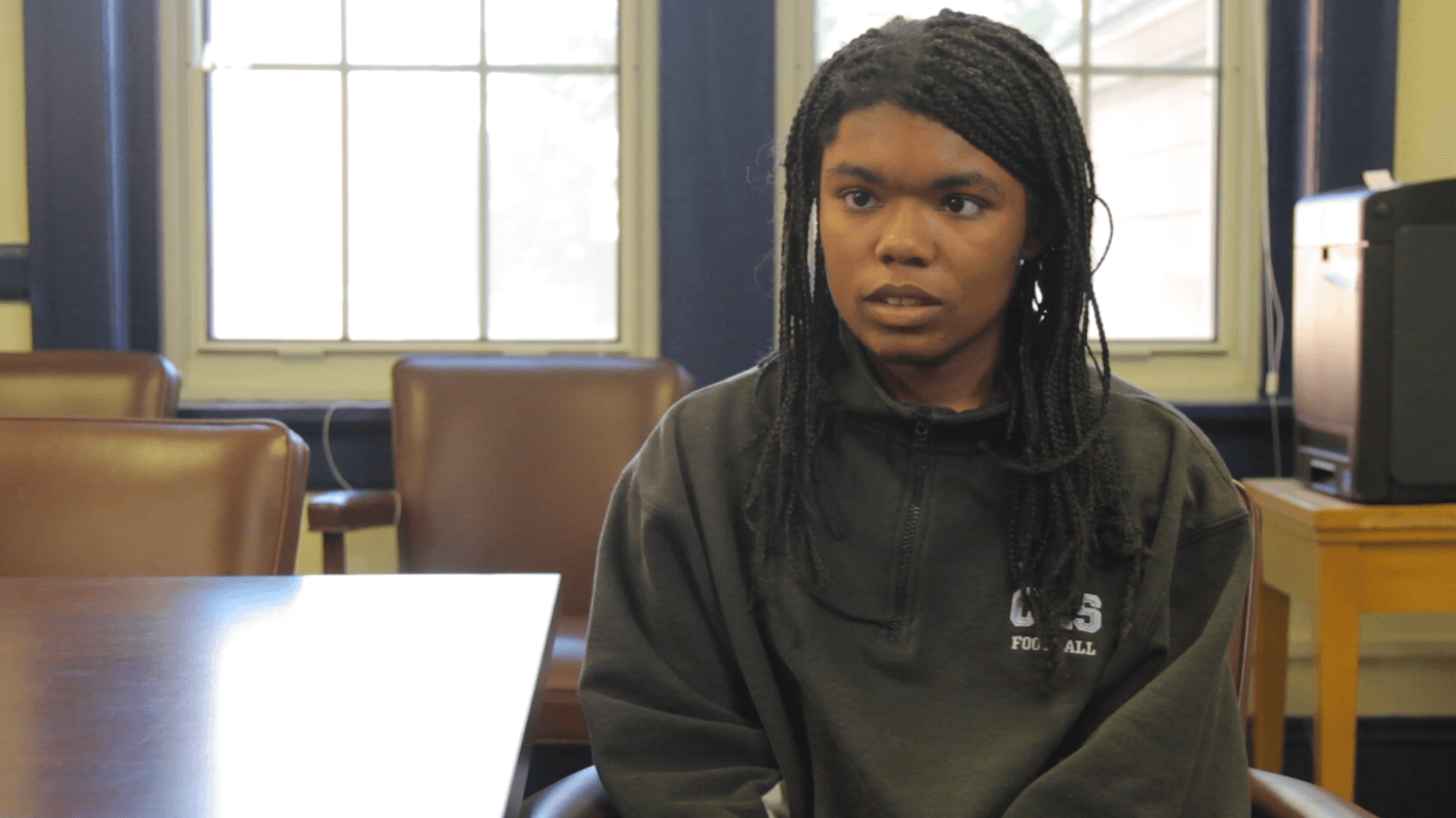 Shaneese Wrenn talks about her future at the Governor Morehead School