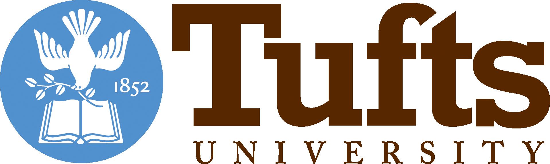 Logo for Tufts University in Medford, Massachusetts