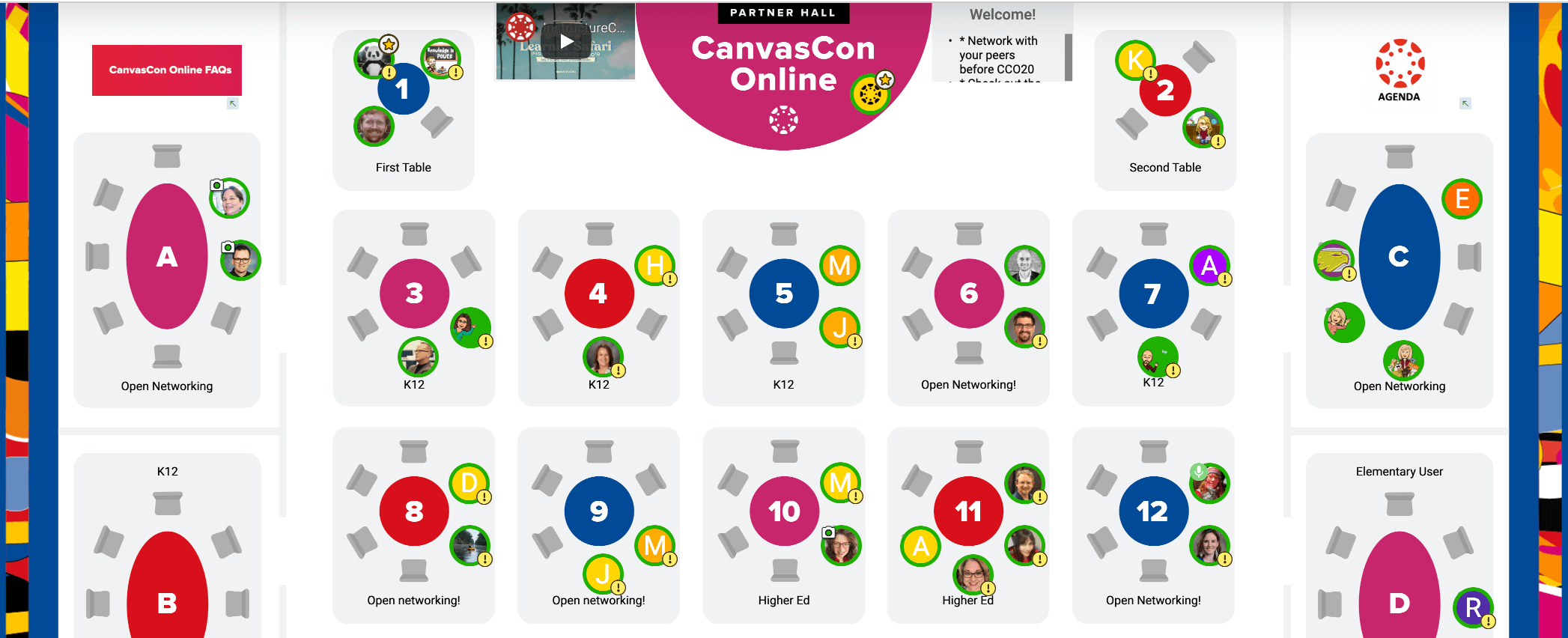 CanvasCon Online Pre-Event Networking