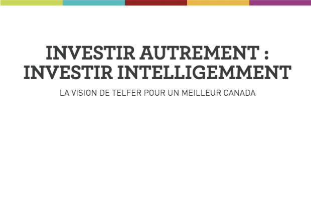 Vision de Telfer pour un meilleur Canada - Mars 2021