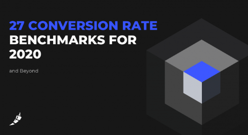 27 Conversion Rate Benchmarks for 2020 (and Beyond)