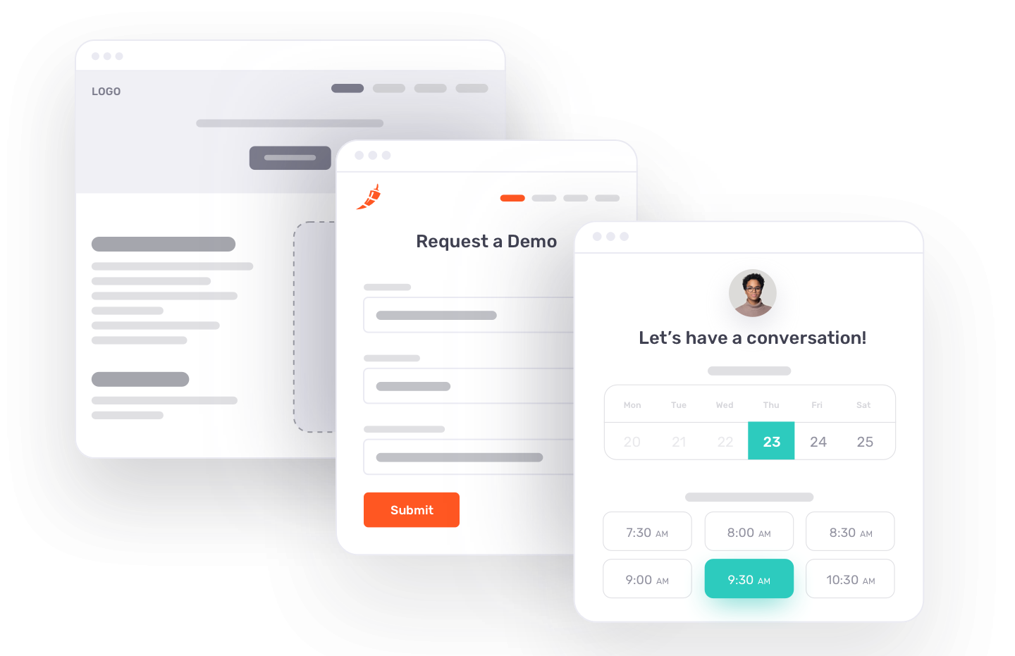 Chili Piper's meeting scheduling software