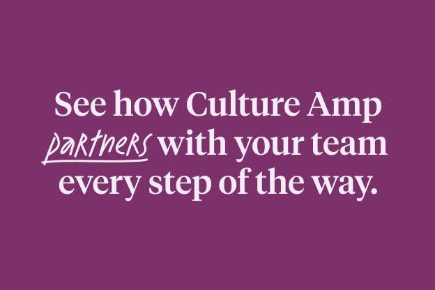 Culture Amp Success & Support