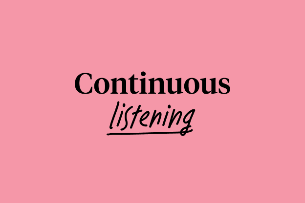 Continuous Listening - ENG