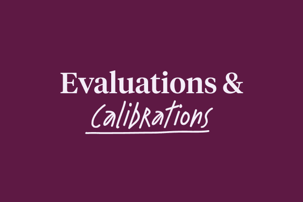 Evaluations & Calibrations - PERF