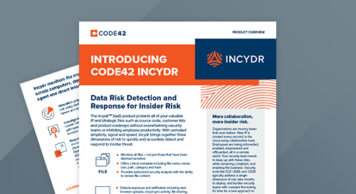 Incydr Product Overview