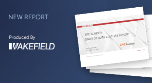 The Alation State of Data Culture Report - Q3 2020