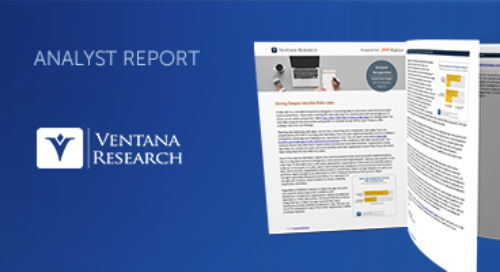 Ventana Research: Diving Deeper into the Data Lake