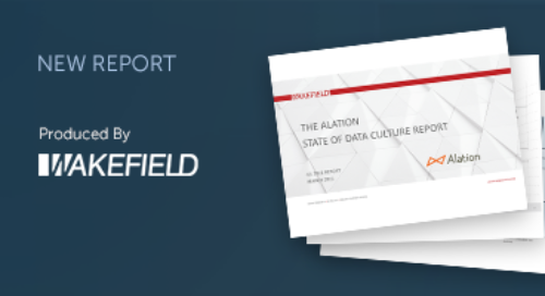 The Alation State of Data Culture Report - Q1 2021