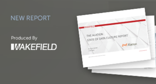 The Alation State of Data Culture Report - Q2 2021