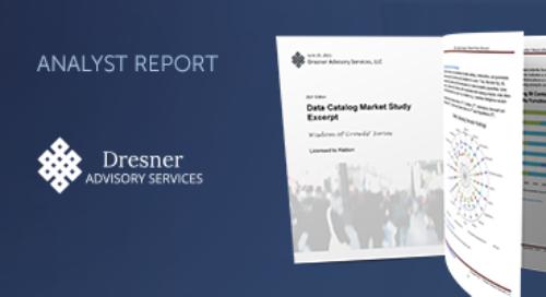 2021 Dresner Wisdom of Crowds Data Catalog Market Study