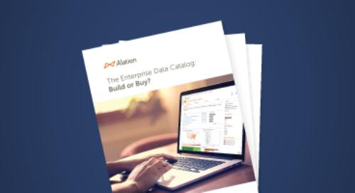 The Enterprise Data Catalog: Build or Buy?
