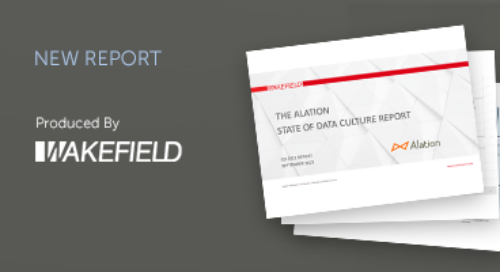 The Alation State of Data Culture Report - Q3 2021