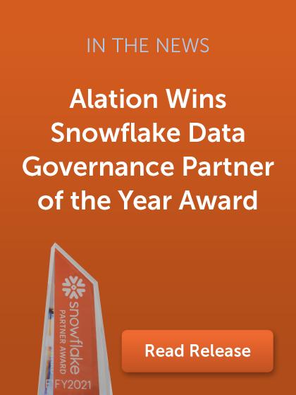 Snowflake Data Governance Partner of the Year