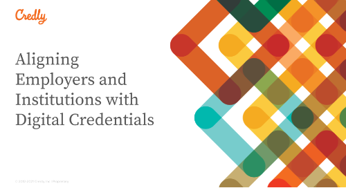 Aligning Employers and Institutions with Digital Credentials