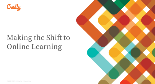 Making the Shift to Online Learning
