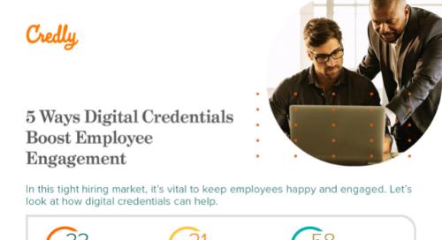 5 Ways Digital Credentials Boost Employee Engagement