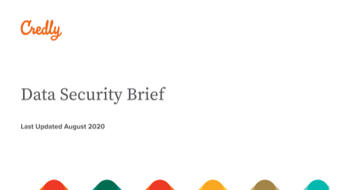 Credly Data Security Brief