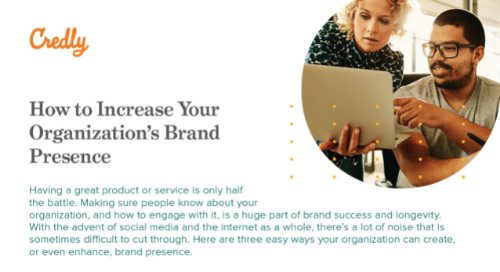 Credly How to Increase Your Organization's Brand Presence
