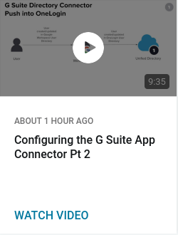 Configuring the G Suite App Connector Pt 2