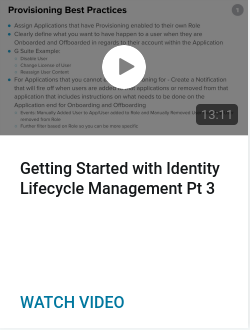 Getting Started with Identity Lifecycle Management Pt 3