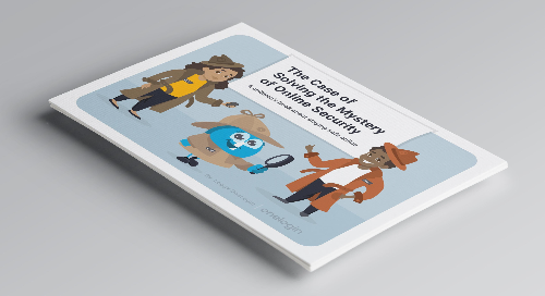 Children's Book: The Case of Solving the Mystery of Online Security