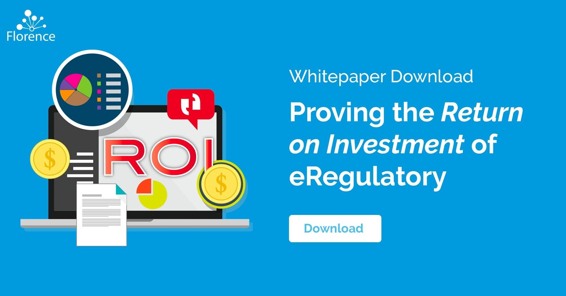 Proving The ROI of eRegulatory