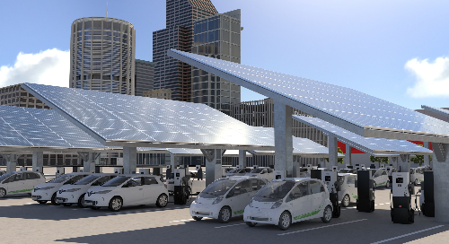 Electric Vehicle Smart Charging in Buildings