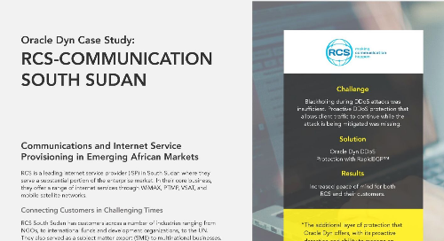 Case Study: RCS-Communication