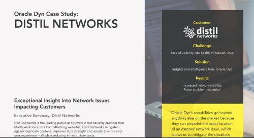 Case Study: Distil Networks