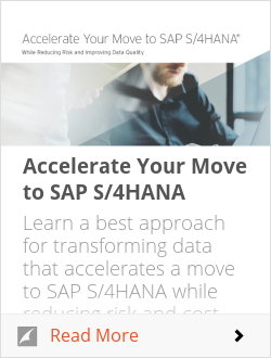 Accelerating the Move to SAP S/4HANA
