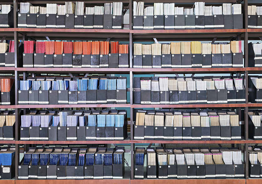 Image_Archiving of Data in Bookcase
