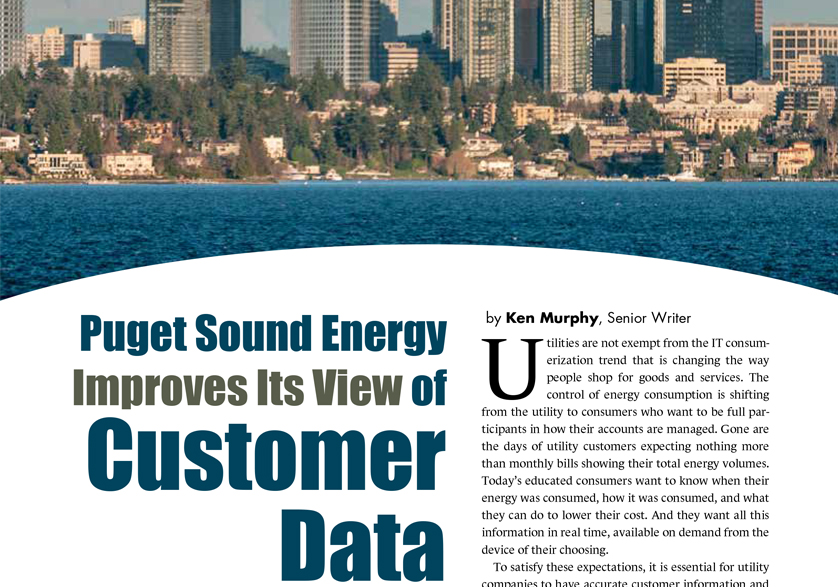 [Customer Story] Puget Sound Energy