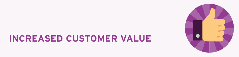 Increased Customer Value