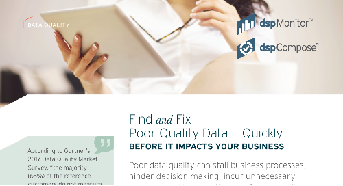Find and Fix Poor Quality Data — Quickly