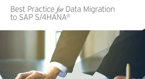 SAP S/4HANA Data Migration Options