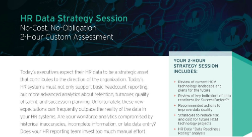 HR Data Strategy Session