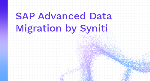 SAP Advanced Data Migration by Syniti