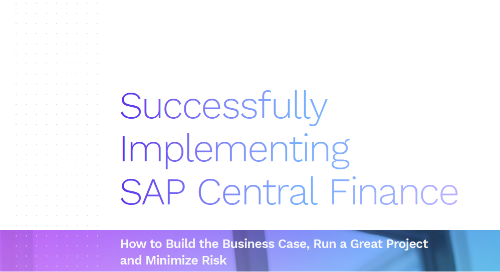 Successfully Implementing SAP Central Finance