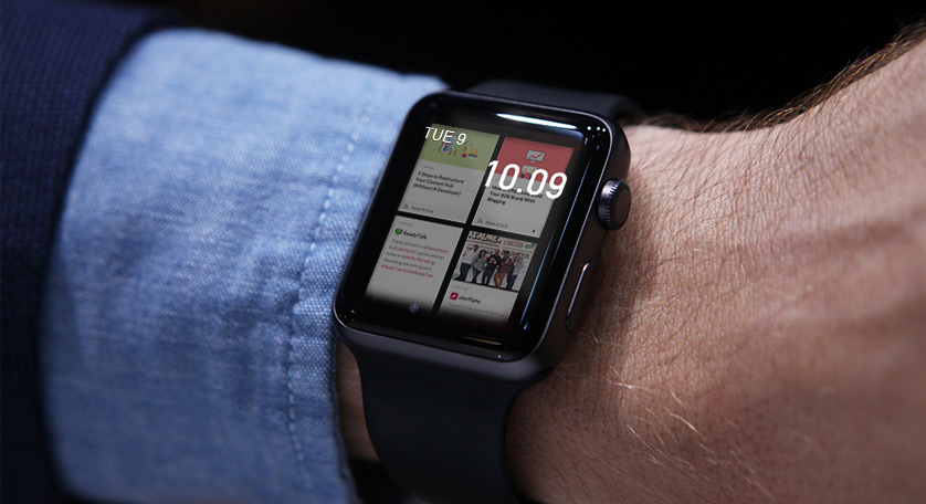 Uberflip Apple Watch