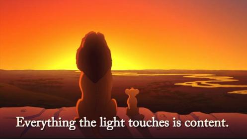 Lion King Content