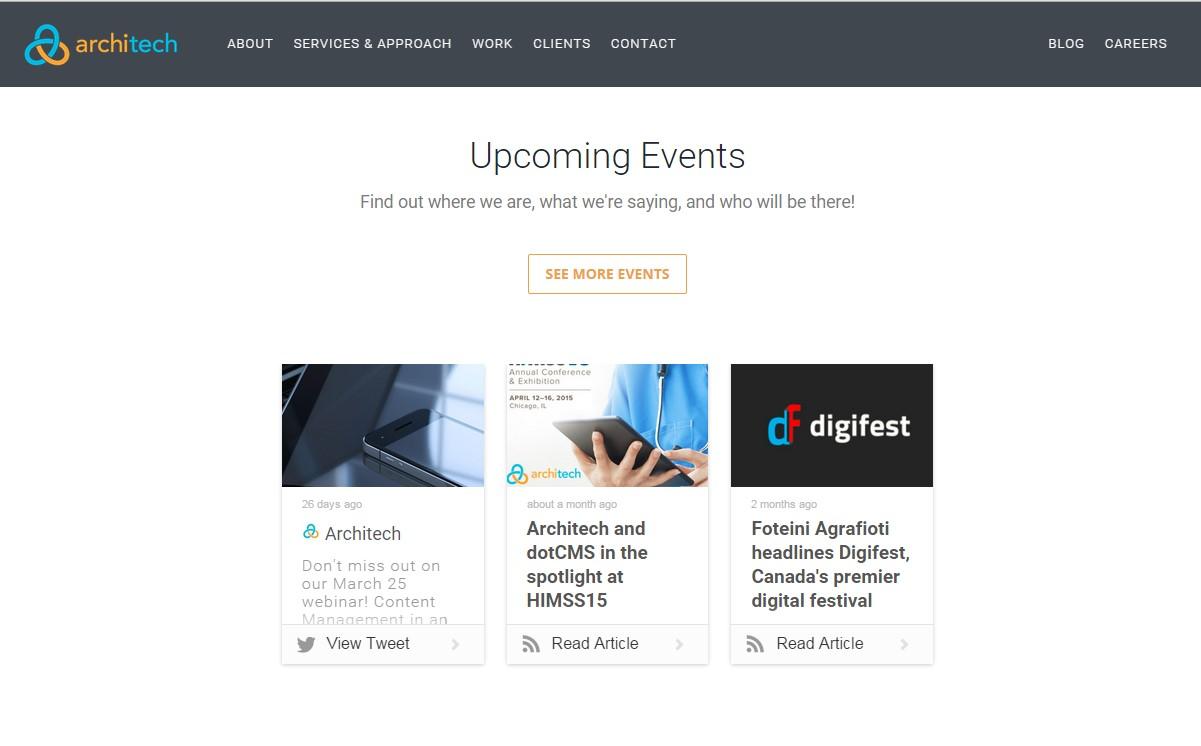 architech content hub