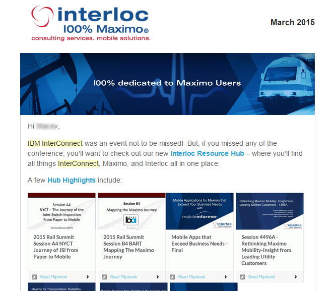 interloc hub embed