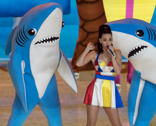 Left Shark Content Marketing