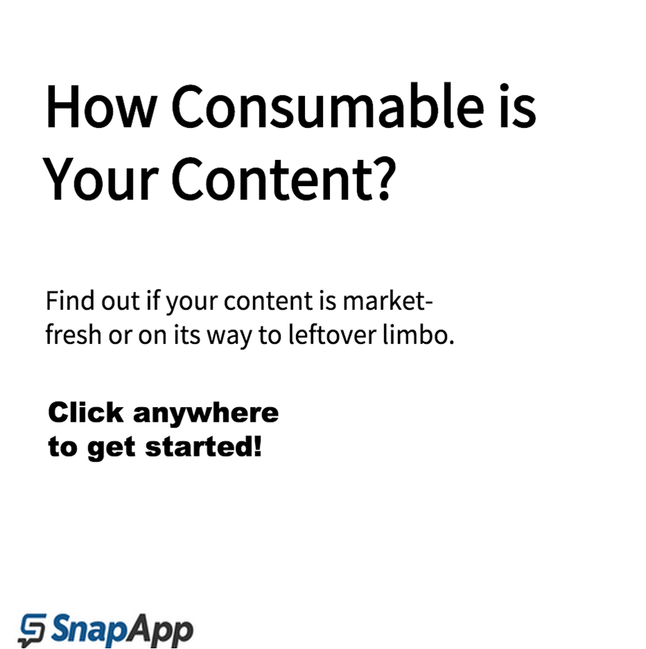 How Consumable is Your Content?