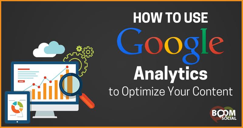 Google Analytics Content Optimization