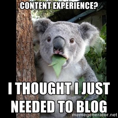 Content Experience Meme