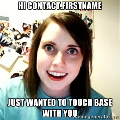 Personalization Marketing Meme