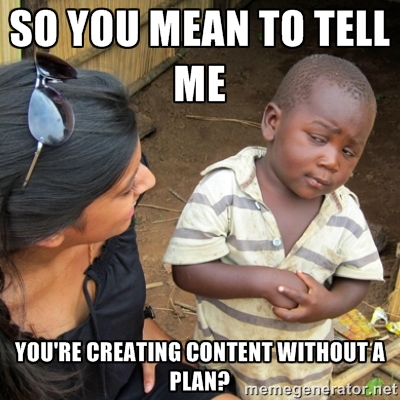 Marketing Plan Meme